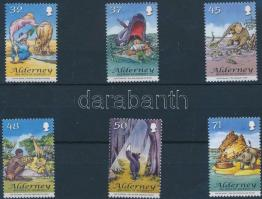 2007 Rudyard Kipling könyveinek illusztrációi sor Mi 314-319