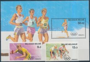 1988 Nyári Olimpia, Szöul sor Mi 2337-2338 + blokk 58