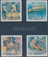 1992 Téli olimpia sor Mi 1592-1595