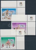 2000 Olimpia ívsarki sor Mi 370-372