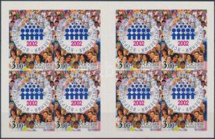 2002 Népszámlálás öntapadós bélyegfüzet Mi MH 10 (1018)