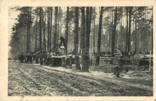 WWI Hungarian military card, heroes cemetery, Hősök temetője; Érdekes Újság  kiadása