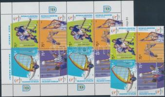 2000 Olimpia négyestömb + kisív Mi 2601-2604