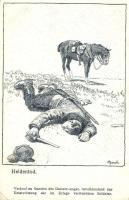 Heldentod / WWI German military s: Azeich, I. világháborús elesett német katona, s: Azeich