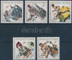 1990 Nyári olimpia sor Mi 1099-1103