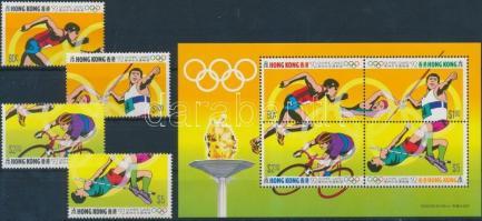 Summer Olympcis set + block, Nyári olimpia sor + blokk