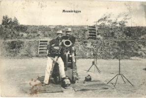 Mortar, Hungarian military, Mozsárágyú