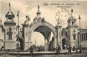 1911 Charleroi, Exposition, Facade Principale