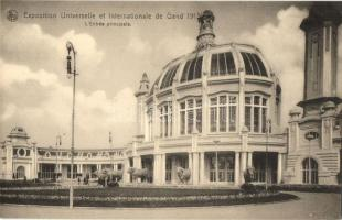 1913 Ghent, Gand; Exposition Universelle et International / main entry