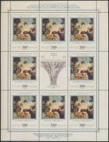 1997 Festmények kisív sor Mi 623-626