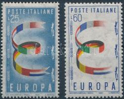 1957 Europa CEPT sor Mi 992-993