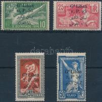 1924 Párizsi olimpiai játékok sor Mi 53-56