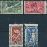 1924 Párizsi olimpiai játékok sor Mi 254-257