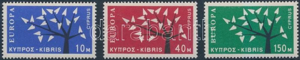 1962 Europa CEPT sor Mi 215-217