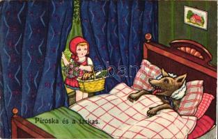 Little Red Riding Hood; Amag 0413 s: Margret Boriss, Piroska és a farkas; Amag 0413 s: Margret Boriss