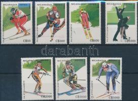 1989 Téli olimpiai játékok, Albertville sor Mi 2951-2957