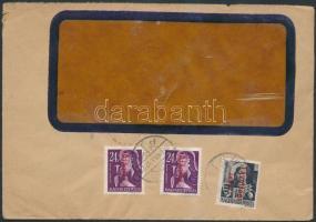 1946 (15.díjszabás) Távolsági céges levél Betűs (III) Távolsági levél + 2xAjánlás bérmentesítéssel