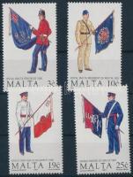 1991 Uniformisok (V) sor Mi 859-862
