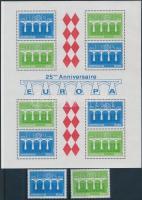 1984 Europa CEPT sor Mi 1622-1623 + blokk 26
