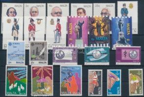1988 23 klf bélyeg teljes sorokban