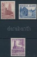 1953 Forgalmi Mi 15, 17, 19
