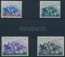 1949 Garibaldi sor 3L érték nélkül Mi 425-429 (Mi 426 hiányzik / missing)