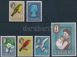 6 definitive stamps, 6 db Forgalmi