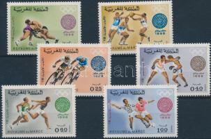 1968 Olimpia sor Mi 635-640