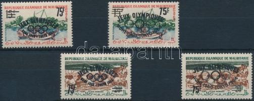 1962 Ki nem adott Nyári olimpia sor I. + II.