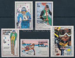 1980 Téli Olimpia, Lake Placid sor Mi 721-725