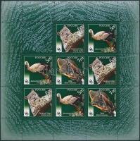2007 WWF: Veszélyeztetett állatok kisív Mi 1434-1436