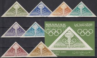 Olympics set + block Olimpia sor + blokk