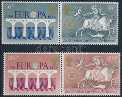 1984 Europa CEPT posta és távközlés szelvényes sor Mi 988-990