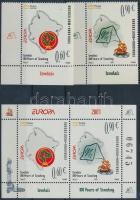 2007 Europa CEPT: Cserkészet ívsarki sor Mi 137-138 + blokk 6