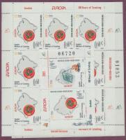 2007 Europa CEPT: Cserkészet kisív sor Mi 137-138 + blokk 6 (ívszélen kis törés)