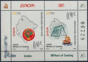 2007 Europa CEPT: Cserkészet blokk Mi 6
