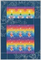 1999 Karácsony-Újév kisív sor Mi 776-777