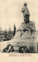 Vysokov, Wysokov bei Náchod; Denkmal des K.K. Feld-Jäger-Bat. No. 6 am Schlachtfelde / military monument