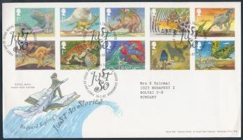 2002 Kipling meseillusztrációk sor Mi 1971-1980 FDC-n