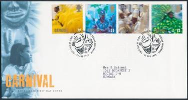 1998 Europa CEPT: Nemzeti ünnepek sor Mi 1763-1766 FDC-n