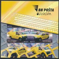 2013 Europa CEPT, Postai járművek bélyegfüzet MH 11 (Mi 618 Dl/Dr/E-619 Dl/Dr/E)