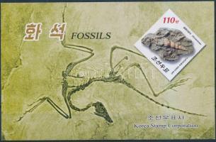 Prehistoric fossils stampbooklet, Őskori leletek bélyegfüzet