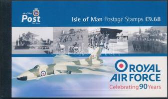 2008 Royal Air Force: Repülők bélyegfüzet Mi MH 50 (1415-1420)