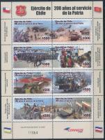 2010 200 éves a hadsereg kisív Mi 2421-2428