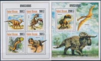 2013 Dinoszauruszok kisív + blokk