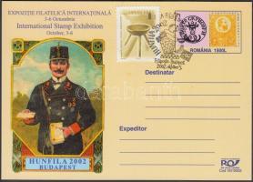 2002 Hunfila levelezőlap alkalmi bélyegzéssel
