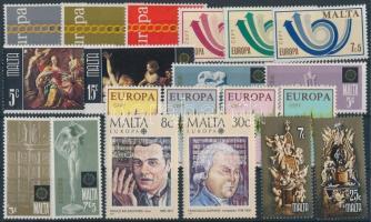 1971/1985 Europa CEPT 11 klf sor 2 stecklapon