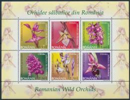 Orchids block, Orchideák blokk