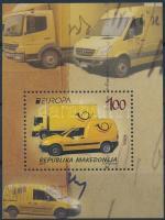 2013 Europa CEPT, postai járművek blokk Mi 26