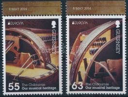 2014 Europa CEPT Hangszerek ívszéli Mi 1464-1465